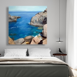 Canvas 48 x 48 - California coast