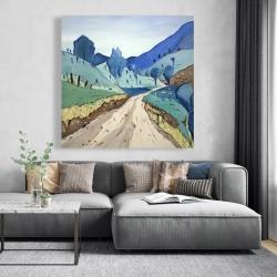 Canvas 48 x 48 - Tuscany trail