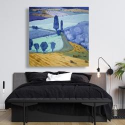 Canvas 48 x 48 - Tuscany field