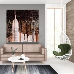 Canvas 48 x 48 - The empire city of newyork