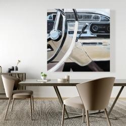 Canvas 48 x 48 - 1950s car dashboard
