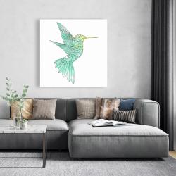 Canvas 48 x 48 - Geometric hummingbird