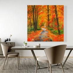 Canvas 48 x 48 - Autumn trail
