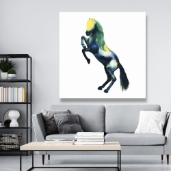 Canvas 48 x 48 - Greeting horse