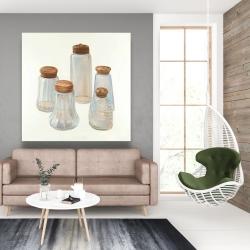 Canvas 48 x 48 - Vintage salt and pepper shaker