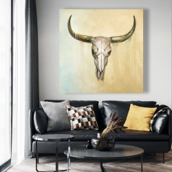 Canvas 48 x 48 - Cow skull