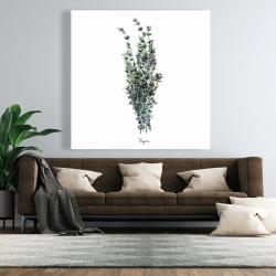 Canvas 48 x 48 - Thyme leaves bundle - fr