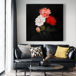 Canvas 48 x 48 - Small bundle of roses