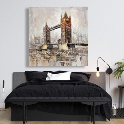 Canvas 48 x 48 - London tower bridge