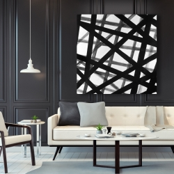 Canvas 48 x 48 - Abstract bold lines
