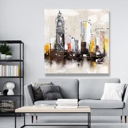 Canvas 48 x 48 - Artistic cityscape