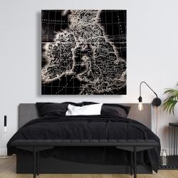 Canvas 48 x 48 - Roman britain maps