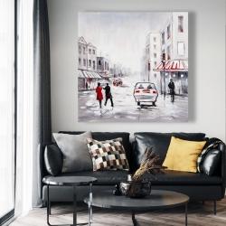 Canvas 48 x 48 - Peaceful street scene