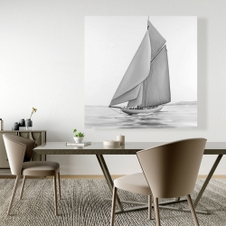Canvas 48 x 48 - Vintage sailing ship
