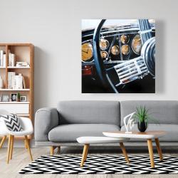 Canvas 48 x 48 - Vintage car interior