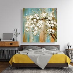 Canvas 48 x 48 - Relaxing cherry blossoms