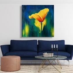 Canvas 48 x 48 - Superb contrast flowers