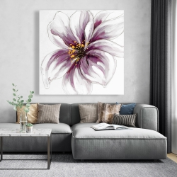 Canvas 48 x 48 - Purple orchid