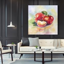 Canvas 48 x 48 - Succulent apples