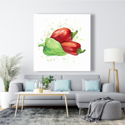 Canvas 48 x 48 - Bell peppers