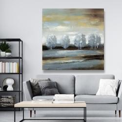 Canvas 48 x 48 - Grey landscape