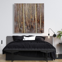 Canvas 48 x 48 - The dark forest