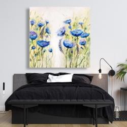 Canvas 48 x 48 - Blue garden