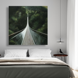 Canvas 48 x 48 - Steep bridge