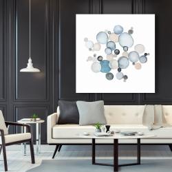 Canvas 48 x 48 - Round pebbles