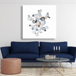 Canvas 48 x 48 - Grayish bubbles