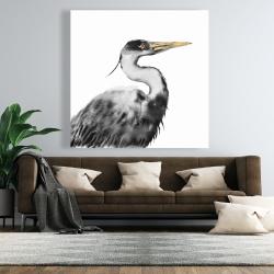 Canvas 48 x 48 - Great heron