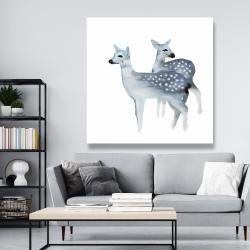 Canvas 48 x 48 - Blue fawns