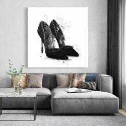 Canvas 48 x 48 - Black pumps