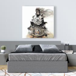Canvas 48 x 48 - Vintage train