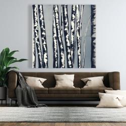 Canvas 48 x 48 - Pastel birches