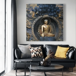Canvas 48 x 48 - Grand buddha at lingshan scenic area in china