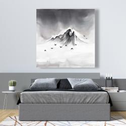 Canvas 48 x 48 - Mountain peak