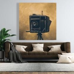 Canvas 48 x 48 - Vintage camera