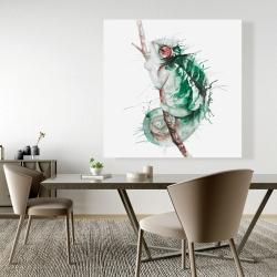 Canvas 48 x 48 - Watercolor chameleon