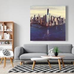 Canvas 48 x 48 - City of new-york vintage