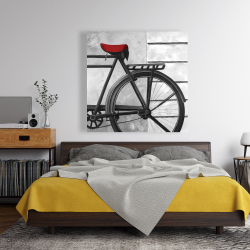 Canvas 48 x 48 - Rear bicycle