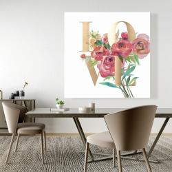 Canvas 48 x 48 - Love gold