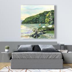 Canvas 48 x 48 - Sailboat day