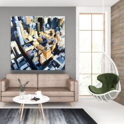 Canvas 48 x 48 - Manhattan view of the empire state building