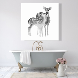 Canvas 48 x 48 - Fawns love