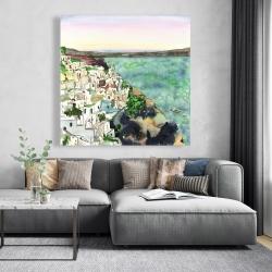 Canvas 48 x 48 - Landscape of crete