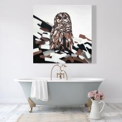 Canvas 48 x 48 - Tawny owl