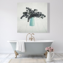 Canvas 48 x 48 - Bouquet of eucalyptus