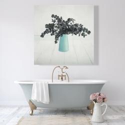 Canvas 48 x 48 - Bouquet of eucalyptus