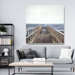 Canvas 48 x 48 - Relaxing beach
